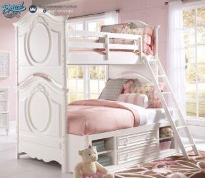 Tempat Tidur Anak Tingkat Jepara Terbaru