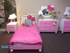 Furniture Kamar Anak Set Jepara Hello kitty Terbaru