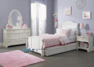 Tempat Tidur Anak Perempuan Modern Mewah Terbaru Liberty