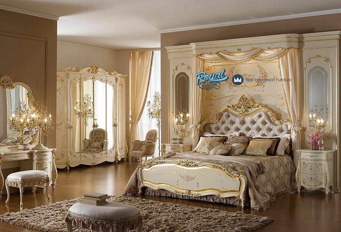 Set ruang kamar tidur klasik monalisa mewah terbaru for Decoraciones internas