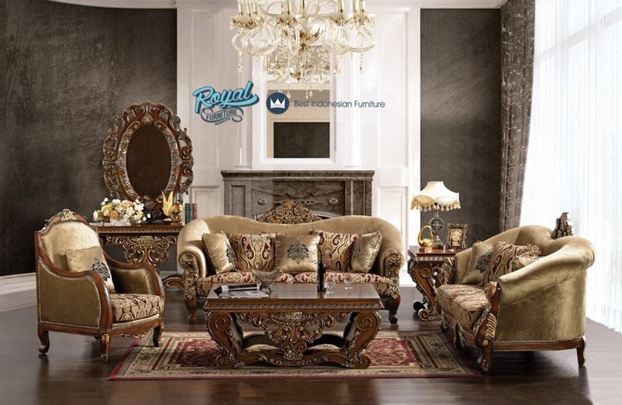 Sofa ruang tamu set ukir mewah terbaru ashley royal - Ashley furniture living room sets 999 ...