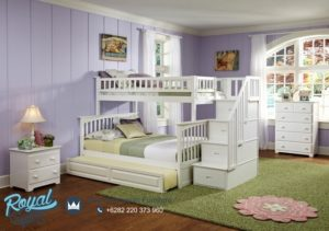 Set Kamar Tidur Anak Tingkat Minimalis Terbaru Twinbed