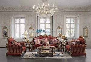 Sofa Tamu Ukir Klasik Mewah Terbaru Victorian