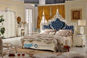 Tempat Tidur Ukiran Klasik Mewah Terbaru French Style