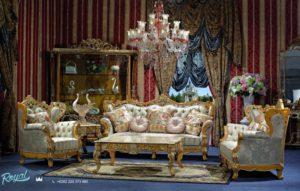 Sofa Tamu Set Klasik Mewah Terbaru Versailles