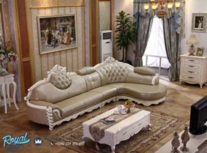 Sofa Ruang Tamu Sudut Mewah Terbaru