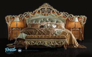 Tempat Tidur Set Ukiran Mewah Terbaru Barocco