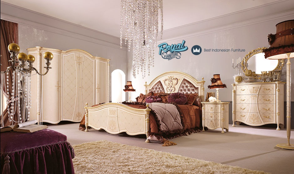 Set kamar tidur klasik model italia mewah terbaru royal - Pitture per camere da letto ...