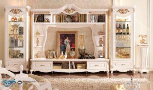 Bufet TV Set Minimalis Modern Model Eropa Mewah Terbaru French Style