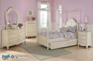 Tempat Tidur Anak Model Kanopi Mewah Terbaru Vanessa