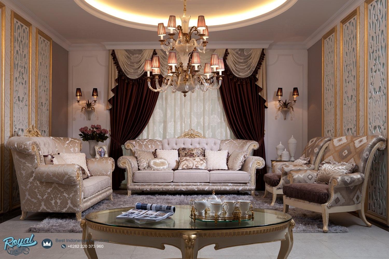 Kursi Sofa Tamu Modern Mewah Terbaru European Style