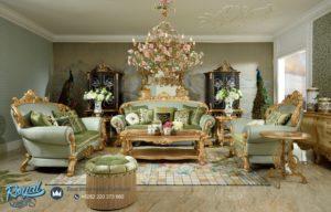 Set Sofa Tamu Ukiran Jepara Klasik Mewah Terbaru European Style