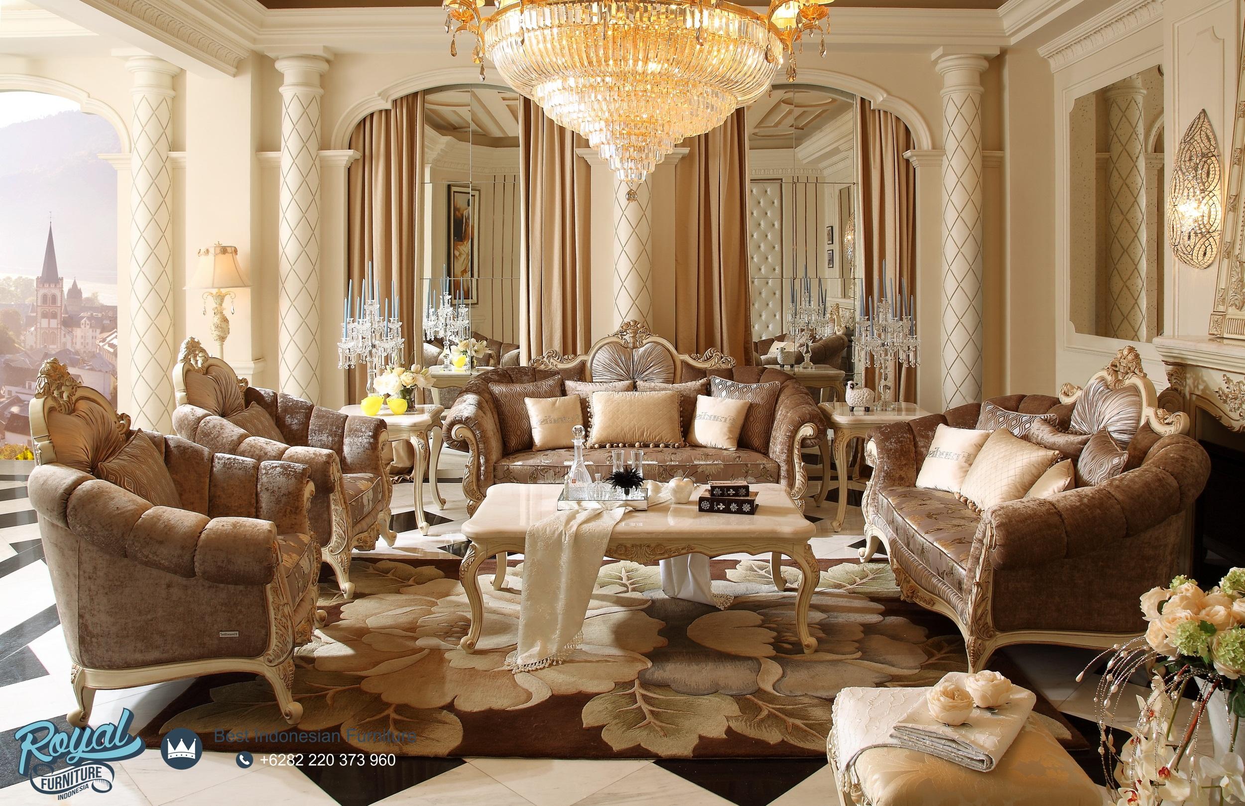 Kursi Sofa Tamu Set Mebel Jepara Mewah Terbaru Temporary Royal