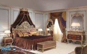 Set Tempat Tidur Klasik Model Italia Mewah Terbaru Vimercati