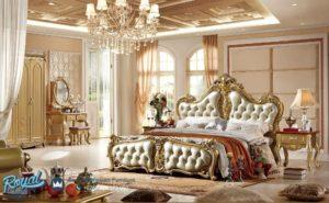 Set Tempat Tidur Mewah Ukiran Mebel Jepara Terbaru Princess