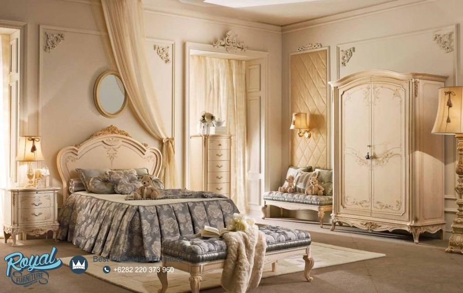 set tempat tidur klasik modern mewah terbaru laccato