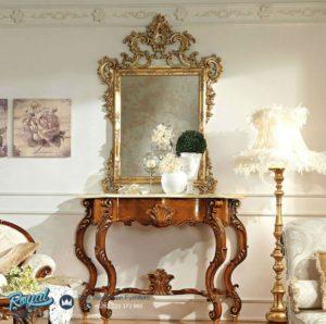 Set Meja Konsol Klasik Ukiran Mebel Jepara Mewah Terbaru Napoleon