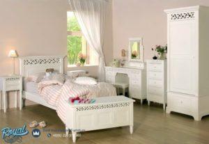 Set Kamar Tidur Anak Perempuan Minimalis Modern Mewah Terbaru Marcella