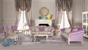 Kursi Tamu Set Sofa Ukiran Klasik Model Eropa Mewah Terbaru Baroko
