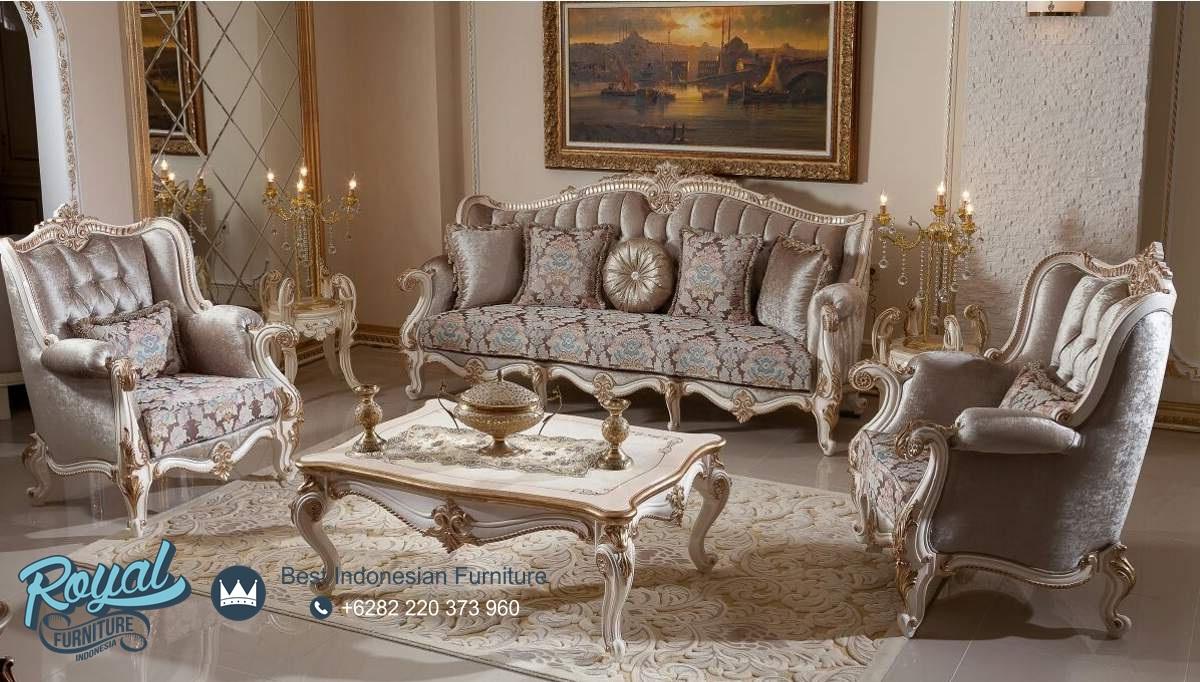 Sofa ruang tamu klasik model eropa mewah terbaru kaldore for Sofa klasik