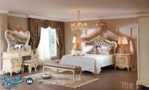 Kamar Set Tidur Eropa Klasik Ukiran Mebel Jepara Mewah Terbaru Luxury Stylish