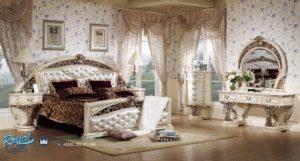 Kamar Tidur Set Mewah Klasik Ukiran STIL Barokoko Terbaru
