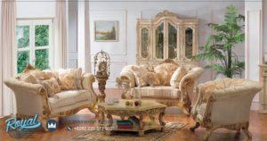 Sofa Ruang Tamu Mewah Ukir Modern European Style Terbaru