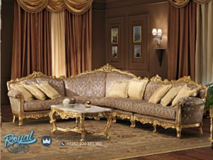 Sofa Tamu Mewah Ukiran Klasik Ruang Keluarga Prodotti Terbaru