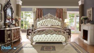Bedroom Set Tempat Tidur Klasik Ukiran Kayu Jepara Europan Terbaru