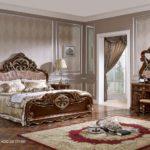 Set Tempat Tidur Mewah Klasik Ukiran Kayu jati Jepara Spalnya Stella Terbaru