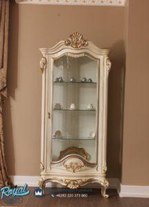 Lemari Hias Mewah Duco Victorian Furniture Terbaru