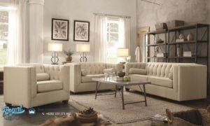 Set Sofa Tamu Minimalis Mewah Elegant Living Rooms Furniture Jepara Terbaru