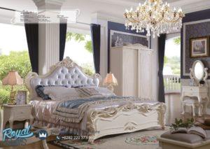 Set Tempat Tidur Mewah Modern Princesa Putih Duco Jepara Terbaru