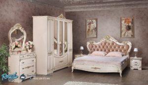 Set Kamar Tidur Mewah Putih Duco Modern Magdalina Terbaru