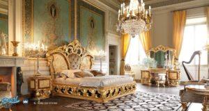Set Kamar Tidur Mewah Ukiran Jepara Classical Bedroom Terbaru