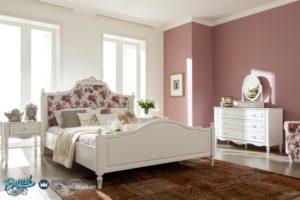 Kamar Tidur Minimalis Mewah Shabbychic modelleri Putih Duco