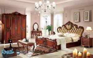Set Kamar Tidur Mewah Klasik Jati Model Eropa Terbaru