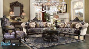 Set Sofa Ruang Tamu Klasik Mewah Homey Design Terbaru