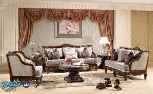Set Kursi Sofa Tamu Mewah Jati Ukir Klasik Jepara Luxurious