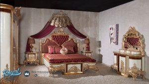 Set Tempat Tidur Ukir Klasik Mewah Turky Sehzade Terbaru