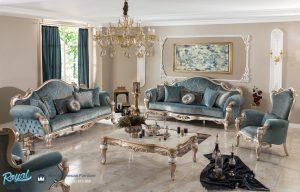 Set Sofa Tamu Elegan Ukiran Jepara Turki Style Terbaru