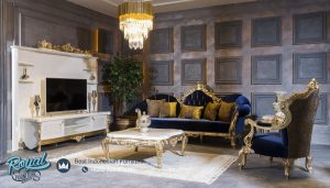 Sofa Tamu Jepara Mewah Ukiran Klasik Turky Style