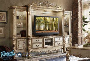 Bufet Tv Klasik Mewah Eropa Ukir Jepara Homey Design