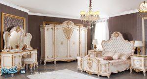 Kamar Tidur Set Mewah Modern Ukir Jepara Verona