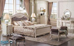Set Tempat Tidur Modern Terbaru Putih Duco Krovat