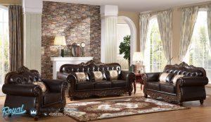 Set Kursi Sofa Tamu Jati Klasik Terbaru Ukir Jepara Antique