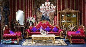 Set Sofa Tamu Klasik Ukir Jepara George Versailles classic