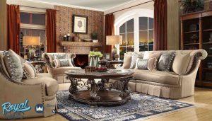 Sofa Tamu Mewah Kayu Jati Jepara Ukiran Klasik Eropa