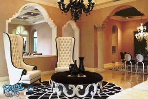 Sofa Teras Ruang Tamu Kayu Jepara Arabian Style