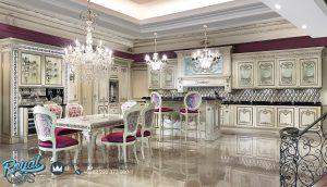 Kitchen Set Ukir Kayu Jepara Terbaru Luxury Hermitage